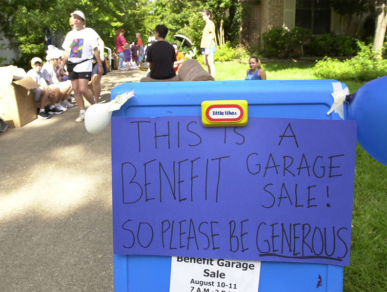 CRAIN GARAGE SALE 1