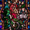 Stained glass at Trinity Episcopal in Longview. Kevin green