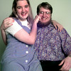 Date:   5/22/98---Ginger 95 and Jonathan Anderson-98 vals at LHS. Kevin green