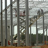 Construction workers continue to work on hte DANA building Thursday August 30, 2001 in hte Longview Business Park. Kevin green
